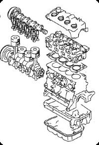 Детали двигателя Мазда СХ-7