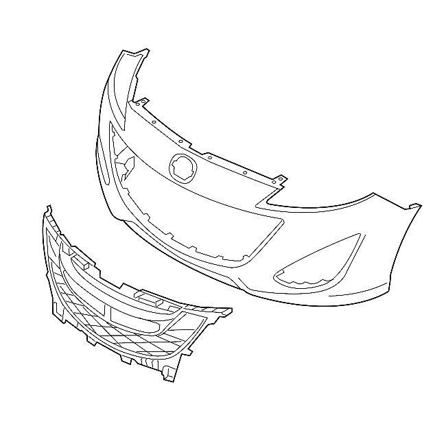 Кузовные детали Мазда МХ-5